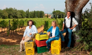 The owners of the Podere Boscarelli farm in Montepulciano | Podere Boscarelli in Montepulciano | The vineyards of Podere Boscarelli | The winery of Boscarelli | Podere Boscarelli, winery in Tuscany ||