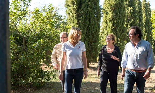 The Losappio family, owner of Villa le Prata | Villa le Prata, winery in Montalcino | Villa le Prata's new generation ||