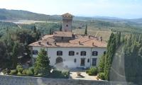 Vicchiomaggio castle, winery in Greve in Chianti