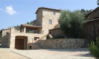 Uccelliera winery, immersed in the Montalcino countryside